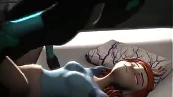 Porno hentai de Gwen tennyson fodendo com alien